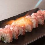 炙り肉巻き寿司