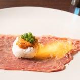 炙り ウニク寿司