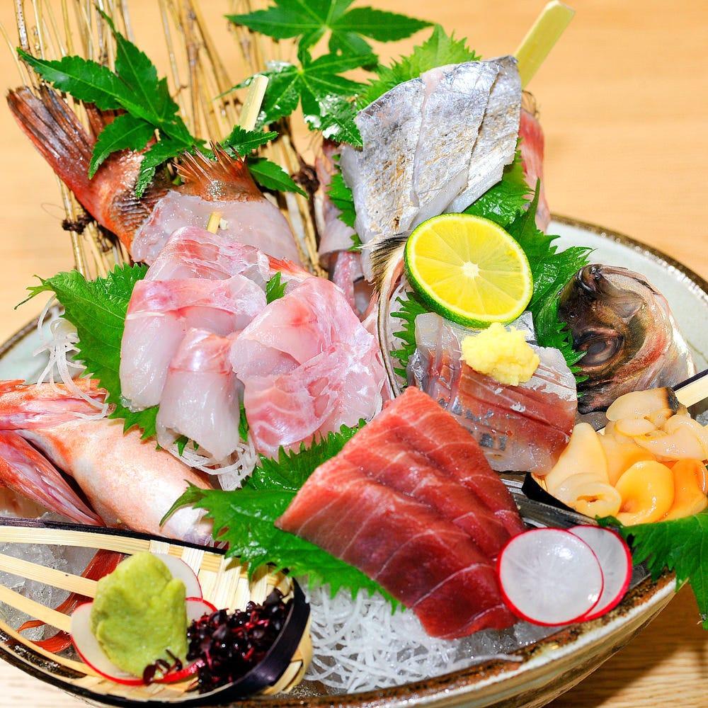 【女子会に】メインが選べる!海鮮お宝押し寿司などお料理全7品『銀政厳選コース』4000円 女子会,お祝いに