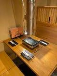 【個室のテーブル席】4名席のお席をご用意しております。
