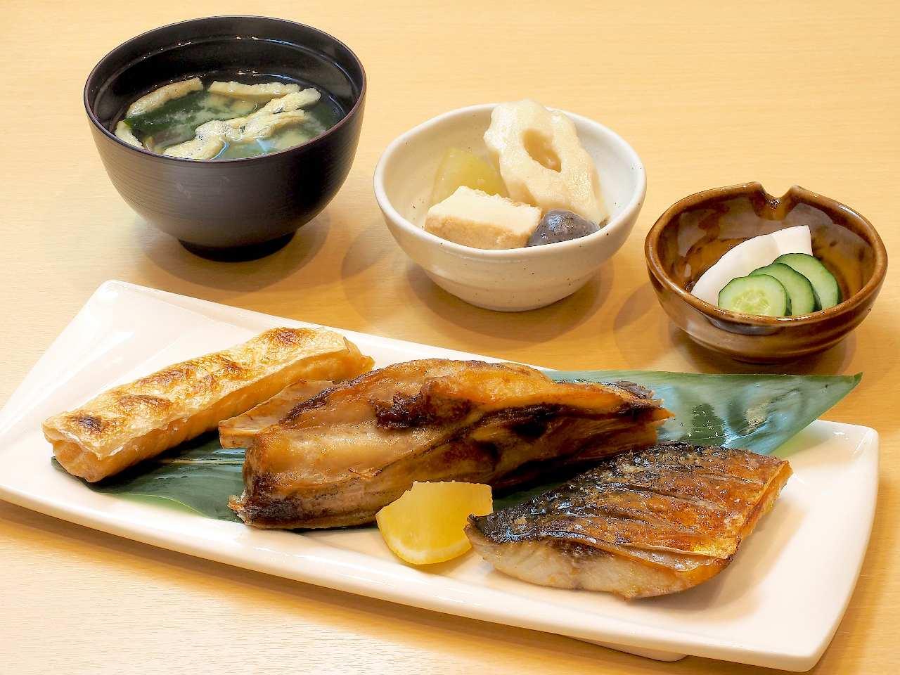 粋のや自慢の焼魚御膳を食べて、最高の1日の始まりを!!