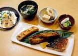 焼魚3種盛り御膳