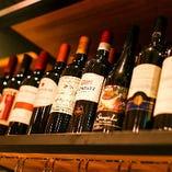 気軽に楽しめるボトルワインは1980円からご用意♪各種ご宴会に