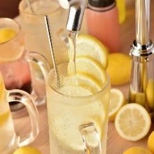 卓上サーバーで瞬間レモンサワー!