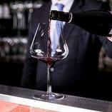 ソムリエ厳選したフランスワインのみを約200種を取揃えてます