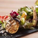 鉄板焼き野菜サラダ