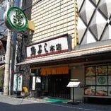 大阪メトロ御堂筋線「なんば駅」、近鉄奈良線「大阪難波駅」から徒歩約5分