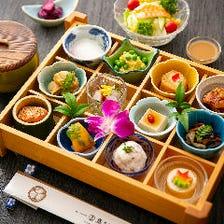 料亭の味を身近に。彩り御膳は980円