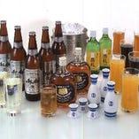 アルコールからソフトドリンクまで、お飲み物も多彩