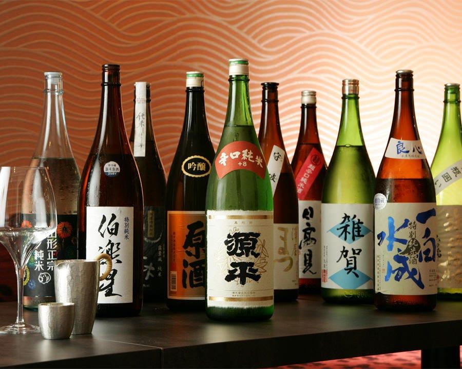 ■40種類以上の日本酒が飲み放題■