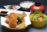 大粒 牡蠣フライ定食