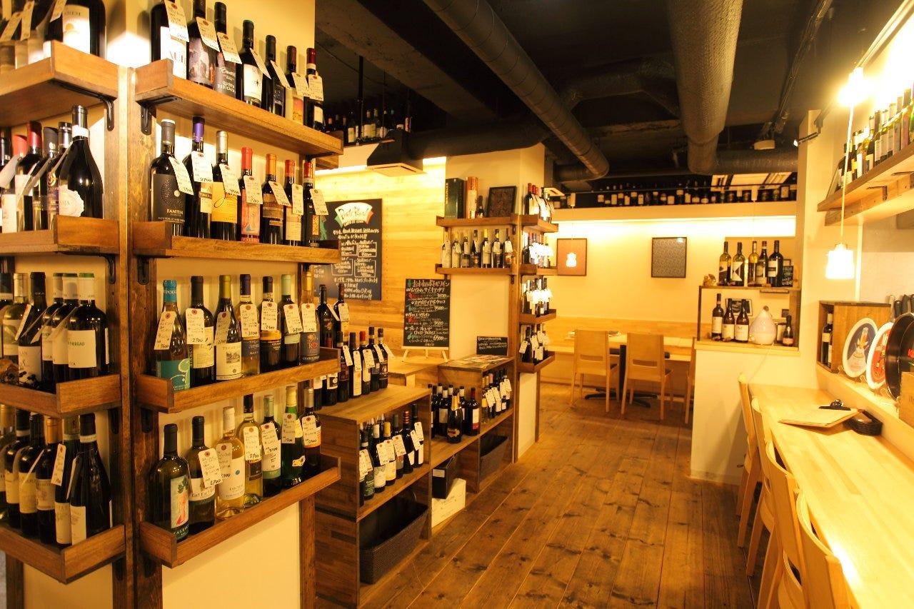 ワイン120種類をリーズナブル価格で