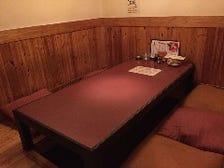 【完全個室】大小2つの個室をご用意