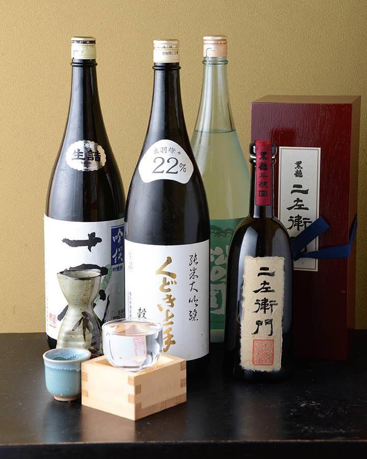 全国の珍しい地酒や、季節限定酒などを美味しお料理とどうぞ!