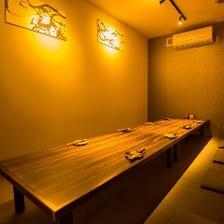10名様用★お座敷完全個室完備