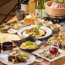 充実の宴会プラン・飲み放題コース!