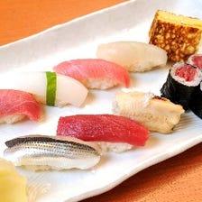 ■厳選素材の江戸前鮨
