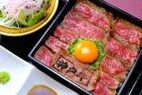 八坐和 特製!神戸牛ステーキ重 別格希少部位