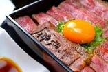 八坐和 特製!神戸牛ステーキ重 極上赤身