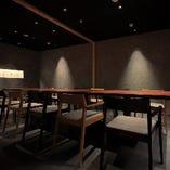 [ 悠久 yukyu ] テーブル席・7~12名様|心で向き合いたい宴席に