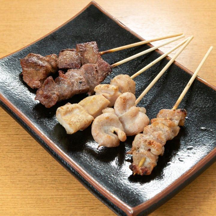本格炭火焼き鶏がまさかの50円(税抜)