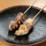 高コスパの炭火焼き鶏