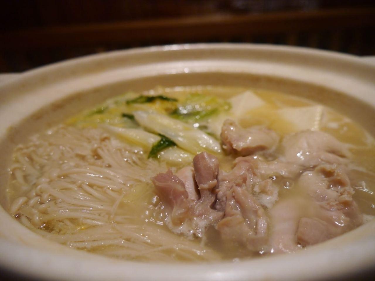 阿波尾鶏のコラーゲン鍋