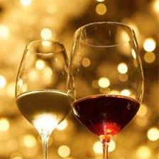 ソムリエによる厳選されたワイン