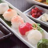 産直手まり寿司[燻製土佐醤油付き]