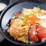 三陸海鮮漬け丼