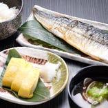 本日の魚焼定食