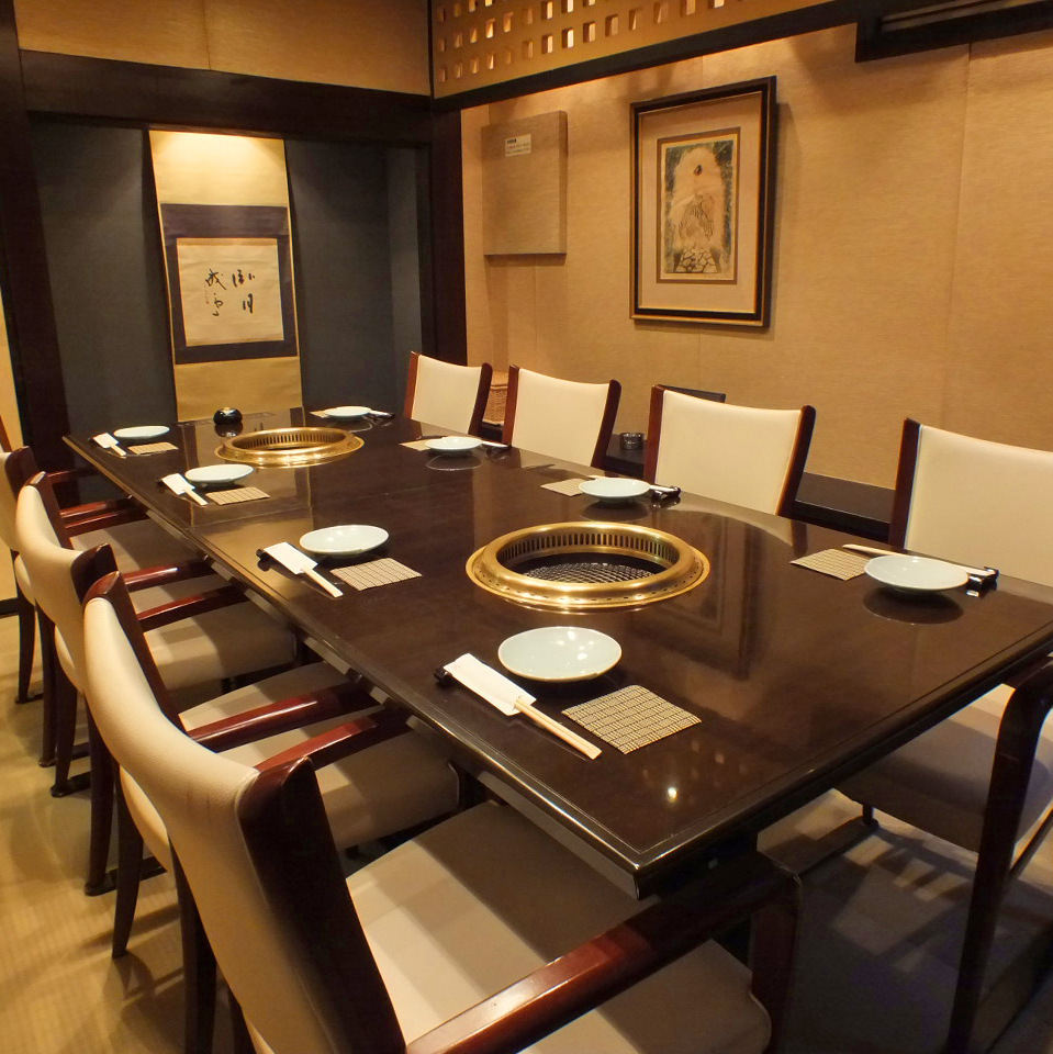 4名~20名様の完全個室。 宴会、接待にもぴったりです。