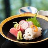 店主の技が光る日本料理