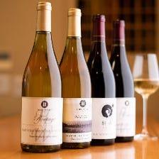 料理を引き立たせる能登産ワイン