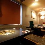 テーブル個室や掘りごたつ座敷など多彩な空間をご用意
