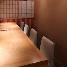 ◆隠れ家的な空間で優雅なひとときを