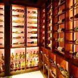 皆様に美味しいワインを届けるためにワインセラーを完備