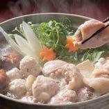 わのわ自慢の手作り料理とお値段変わらず選べるお鍋は5種類
