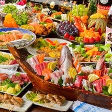 旬を盛り込んだお料理をご宴会で堪能