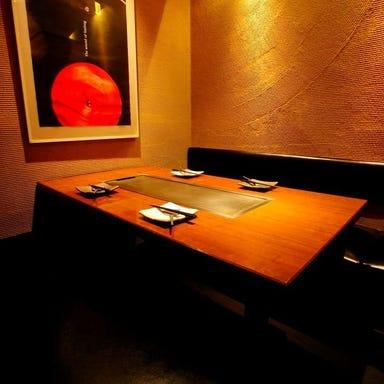鉄板串焼きとワイン 色彩 ー北新地ー 店内の画像