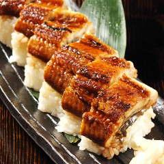 国産うなぎの棒寿司