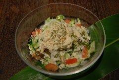 ■島豆腐のシーザーサラダ