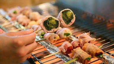 野菜巻き串・もつ鍋 きむや  こだわりの画像