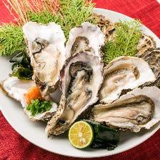\破格!大感謝キャンペーン/◆1日5組限定◆牡蠣料理食べ放題フェア★旬の牡蠣料理食べ放題【2,000円】♪