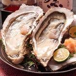 当店のおすすめ 大粒生牡蠣【東京都築地市場】