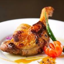 フランス産鴨肉のコンフィ
