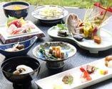 華やかで旬の食材を散りばめたお祝い会席をお楽しみ下さい