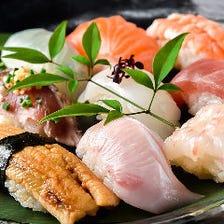 職人技が生きる寿司や絶品の和食