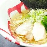 【鶏塩中華soba】濃厚だけどすっきりしていて〆にぴったり。