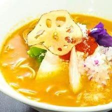 鶏塩白湯トマトsoba